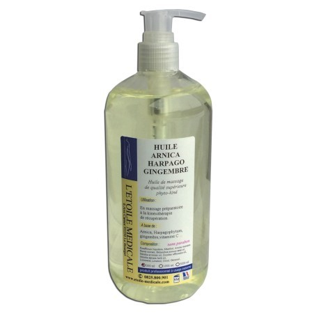 Huile Harpago Arnica Gingembre 500ml étoile médicale