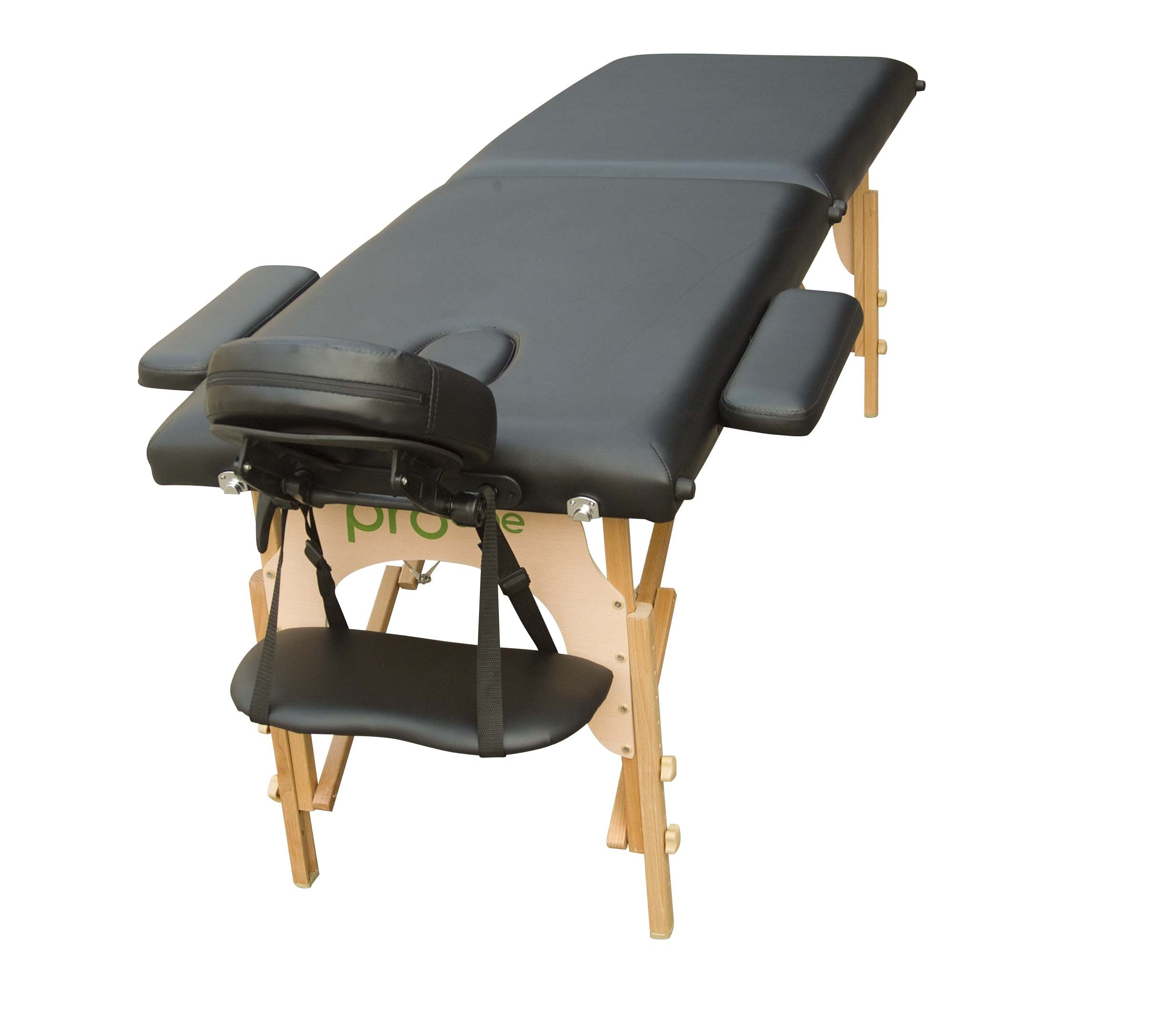 Table de massage pliante noire