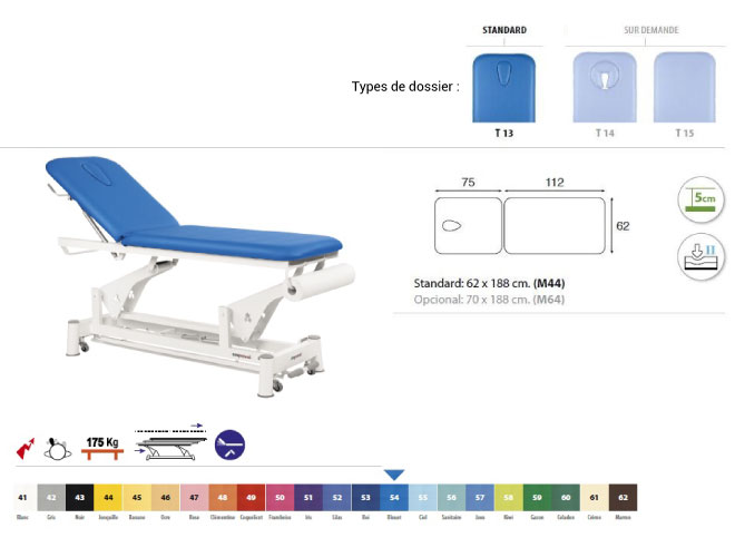 table ecopostural C5552