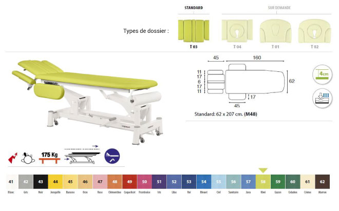 table ecopostural C5544