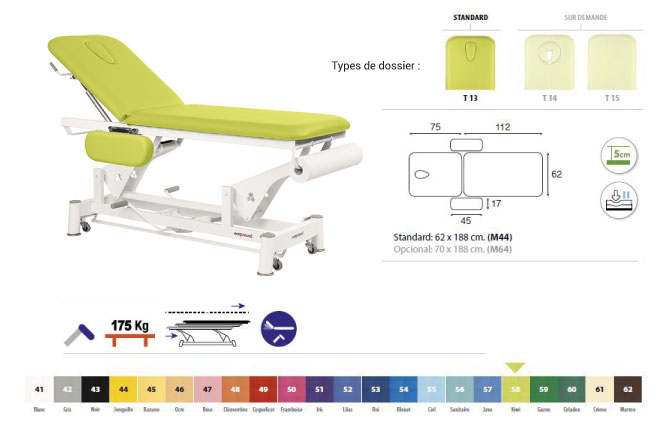 table ecopostural C5751