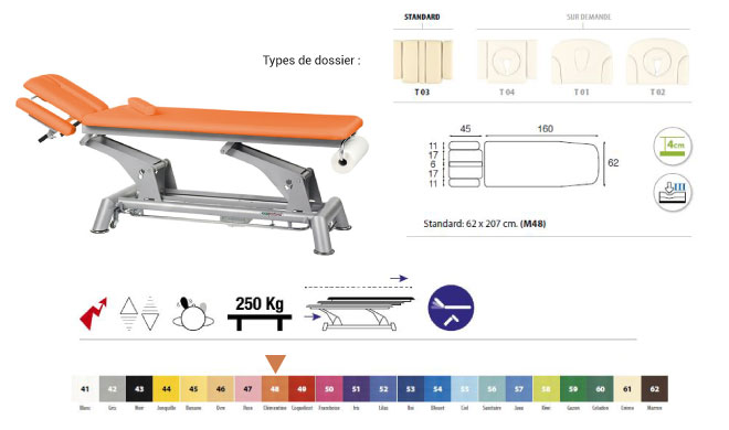 table ecopostural C5943