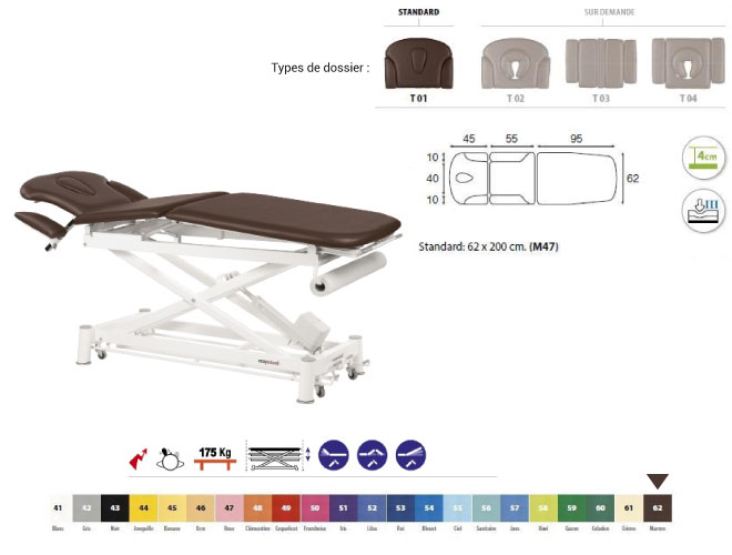 table ecopostural C7530